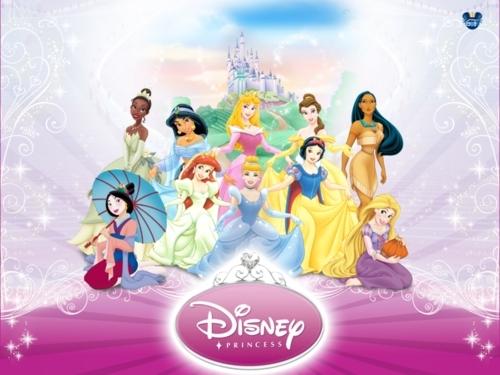 the new ディズニー princess lineup