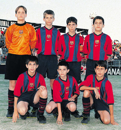 young barca players