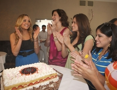 Cover Party For Seventeen Magazine - May Issue 2008