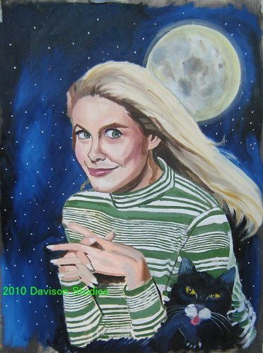 ''Samantha'',painting par Paul Davison