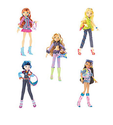 Winx 인형 바탕화면 entitled -Winx- Denim Outfit Dolls!