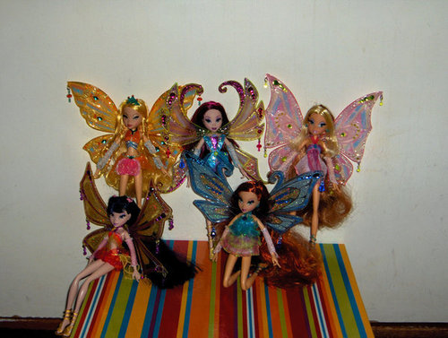 Winx dolls پیپر وال entitled -Winx- Enchantix Dolls!