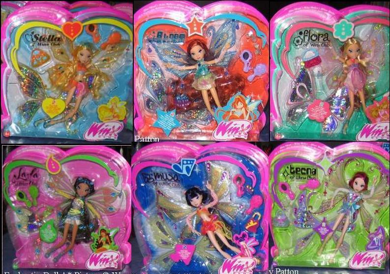 -Winx- Enchantix Dolls!