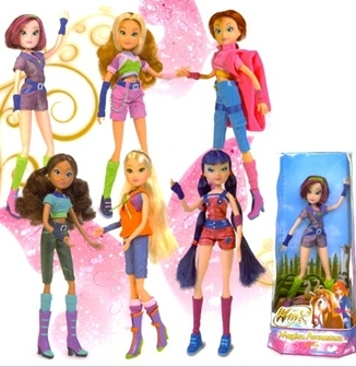 Winx dolls karatasi la kupamba ukuta probably containing anime called -Winx- Movie 2 Adventure Outfits!