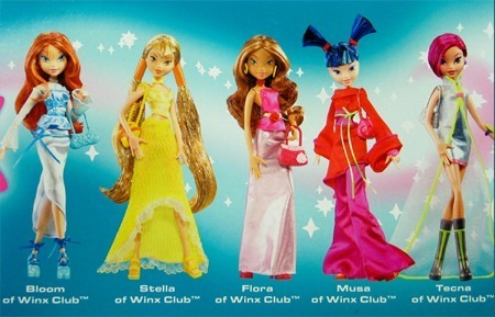-Winx- Season 1 Party Dolls!