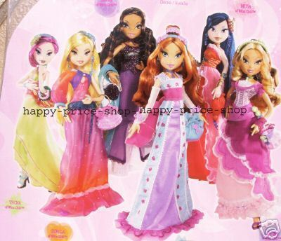 -Winx- Season 3 Ball kanzu, gown Dolls!