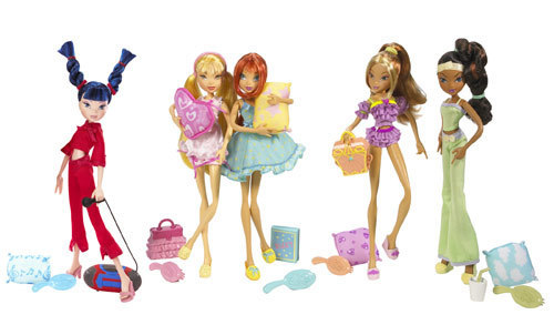 Winx Куклы Обои entitled -Winx- Slumber Party Dolls!