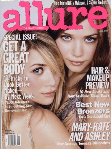 2004 - Allure Magazine - mary-kate-and-ashley-olsen Photo