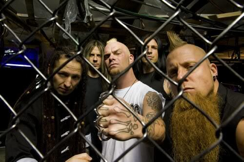 Five Finger Death punch, punzone wallpaper containing a chainlink fence titled 5FDP
