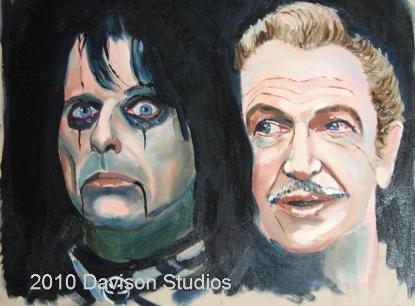 Alice and Vincent,painting da Paul Davison