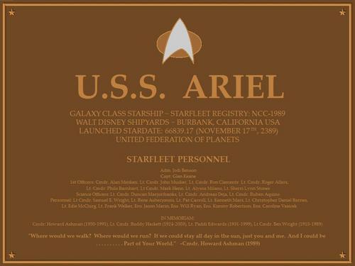 Ariel - étoile, star Trek <3