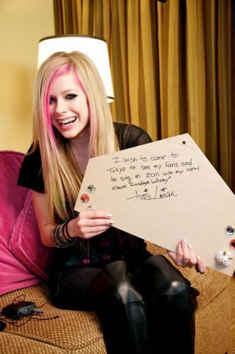 Avril Lavigne Japanese Press день *new*
