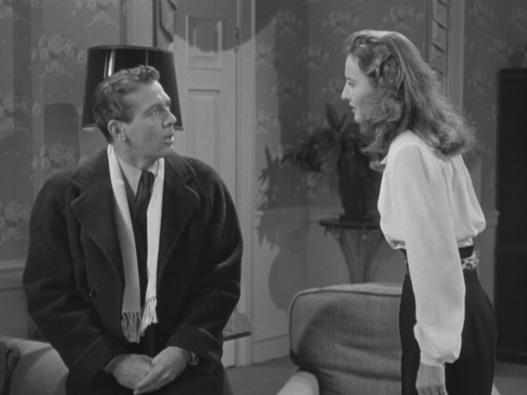 """Barbara Stanwyck in """"Christmas in Connecticut"""""""
