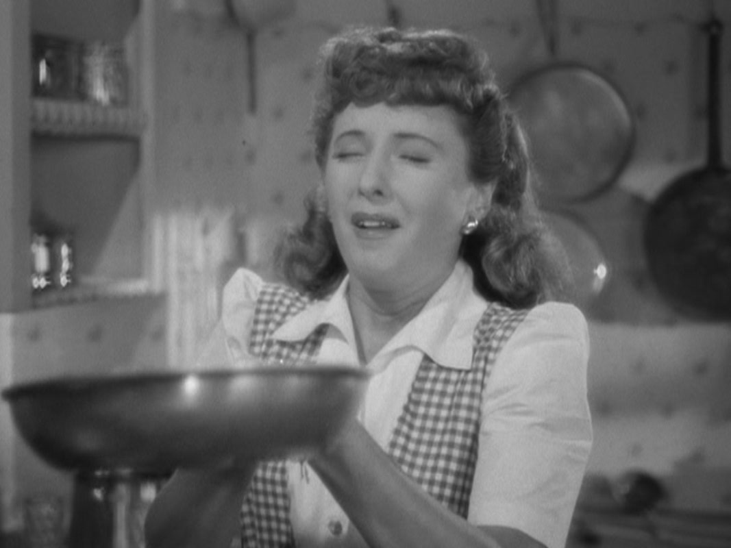 "Barbara Stanwyck in ""Christmas in"