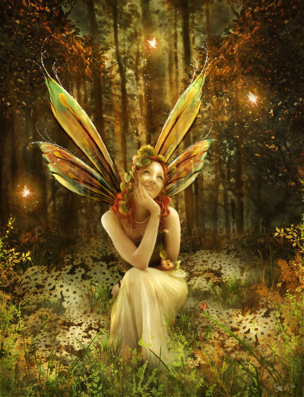 Daydreaming Beautiful Fairy  Beautiful Fairy Pictures