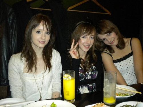 Beckii Cruel and friends