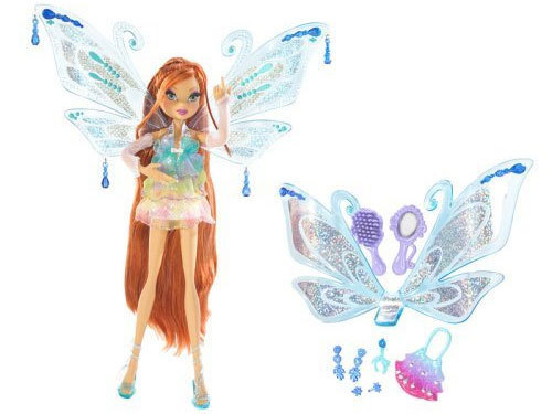 Winx búp bê hình nền titled Bloom Enchantix Doll