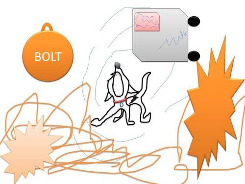 Bolt Uses SuperBark!