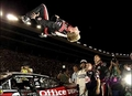 Carl Edwards Backflip - nascar photo