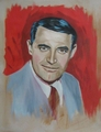 Cary,painting by Paul Davison