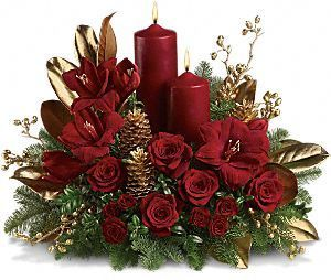 Amazing Candles Images Christmas CenterPiece Wallpaper And Background Photos Part 12