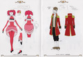 Ciel in Wonderland Costume Designs
