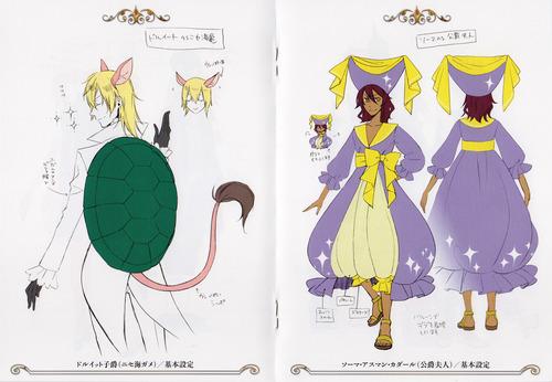 Ciel in Wonderland Costume Designs