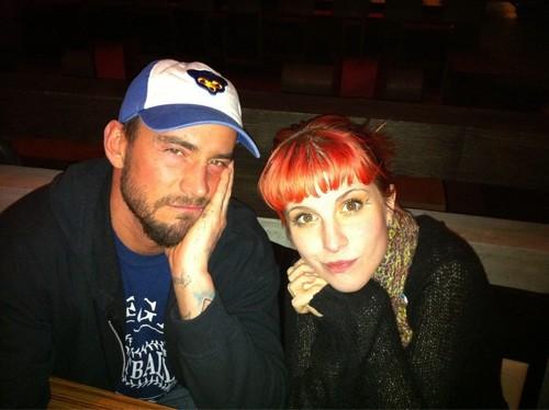 Cm Punk & Hayley Williams