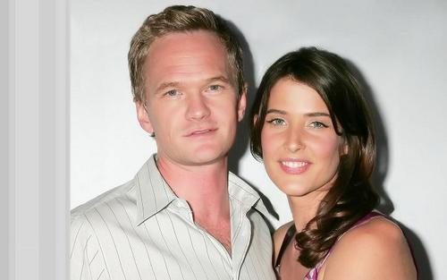Robin Scherbatsky wallpaper containing a portrait called Cobie and Neil