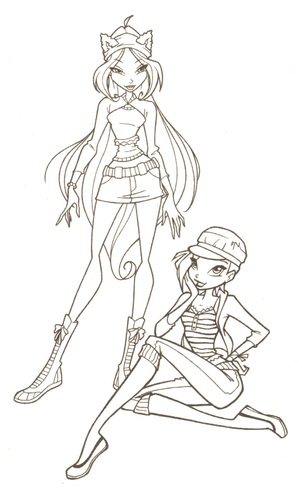 winx coloring pages online - winx coloring pages free coloring pages