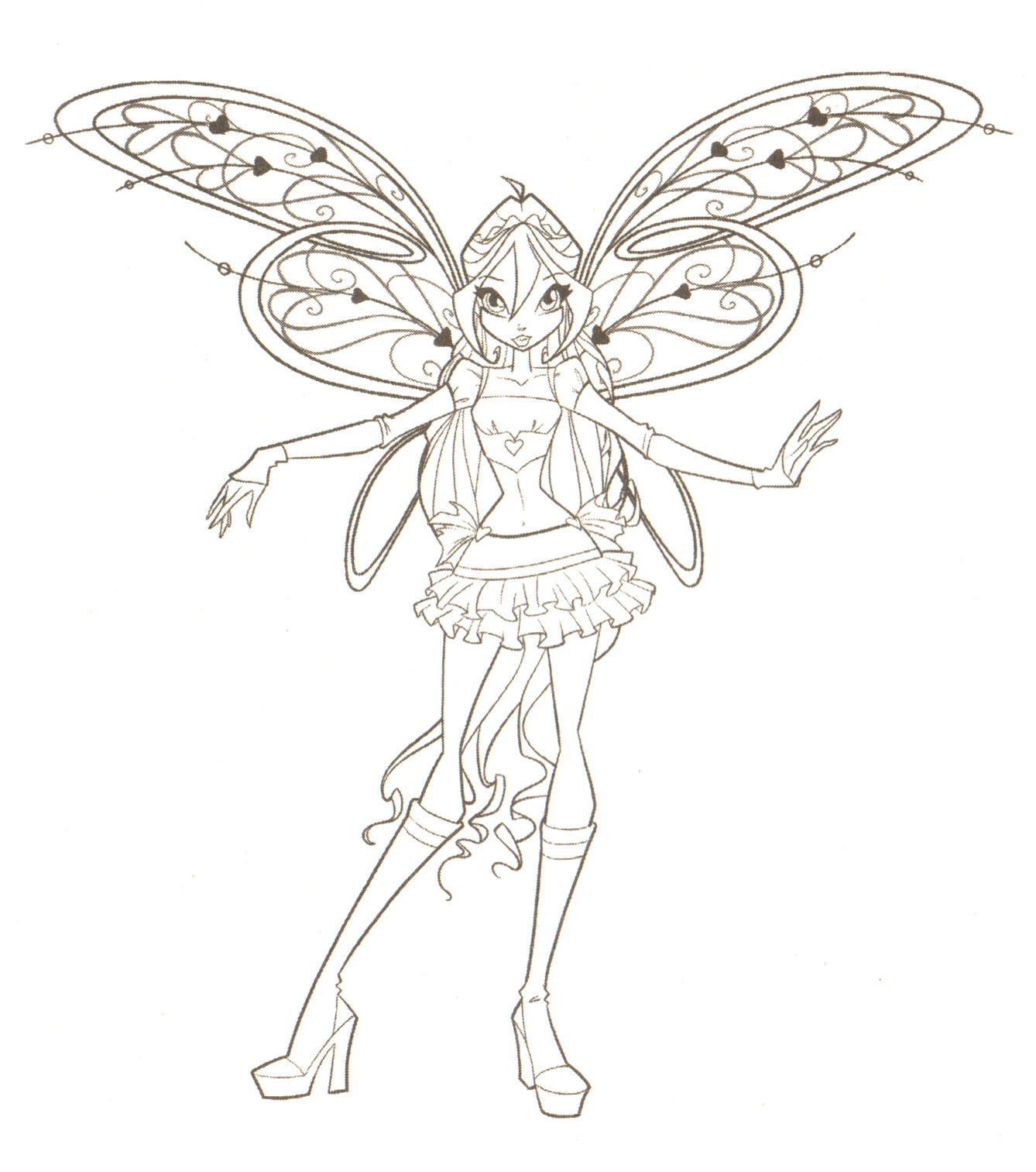 Coloring Pages Winx Club Foto 18341762 Fanpop