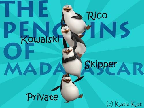 Custom Made Penguins of Madagascar fond d'écran