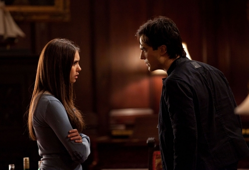 DAMON & ELENA 2x12 The Descent