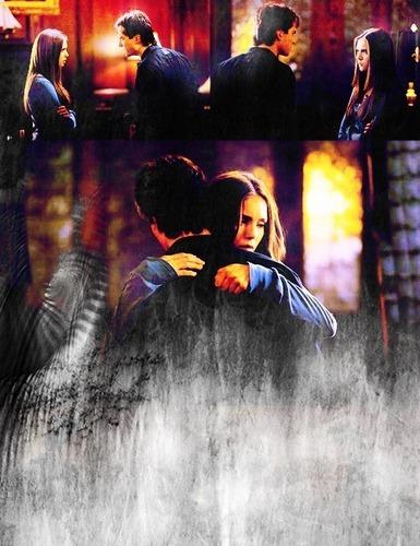 Damon + Elena (2x12)