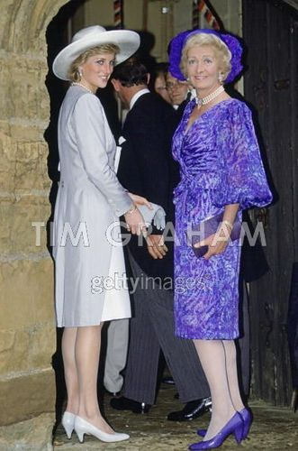 Diana And Mother In Althorp