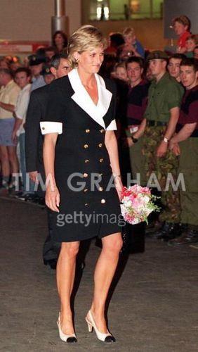 Diana At Royal Tournament