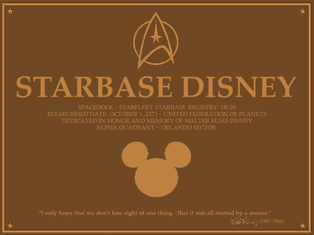 Disney - ster Trek <3 (Starbase Disney)