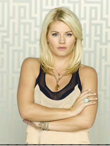 Elisha Cuthbert wallpaper with a portrait titled Elisha - Happy Endings solo promos