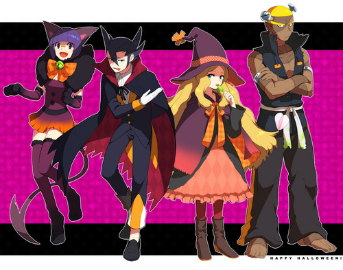 Elite Four's Halloween