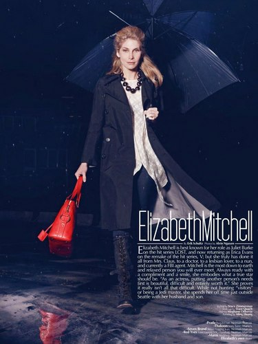 Elizabeth Mitchnell [Music Fashion Magazine]