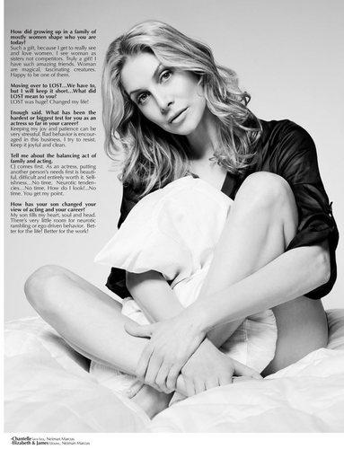 Elizabeth Mitchnell [Music Fashion Magazine]