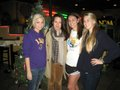 Elizabeth with fans in Baton Rouge.