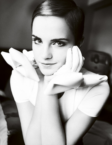 Emma | Vogue UK December 2010.