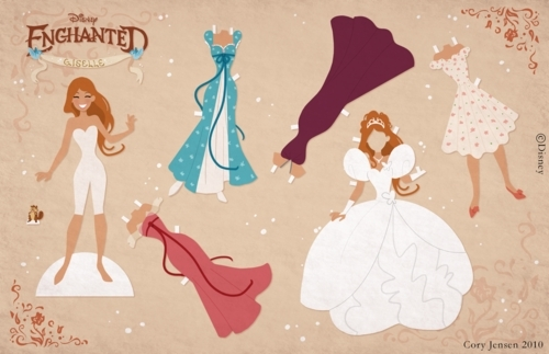 Riselle(Robert/Giselle) Enchanted wallpaper called Enchanted
