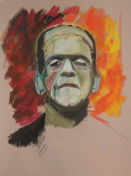 Frankenstein by Paul Davison