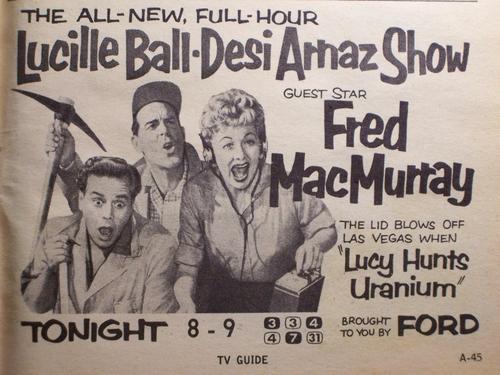 Fred MacMurray Ad