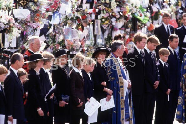 princess diana funeral pictures. Funeral of Diana Princess of