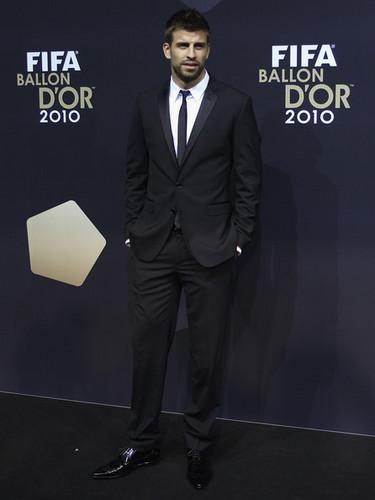 G. Pique (Ballon d'Or Gala 2010)