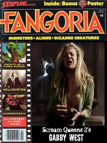 Gabby in Fangoria Magazine