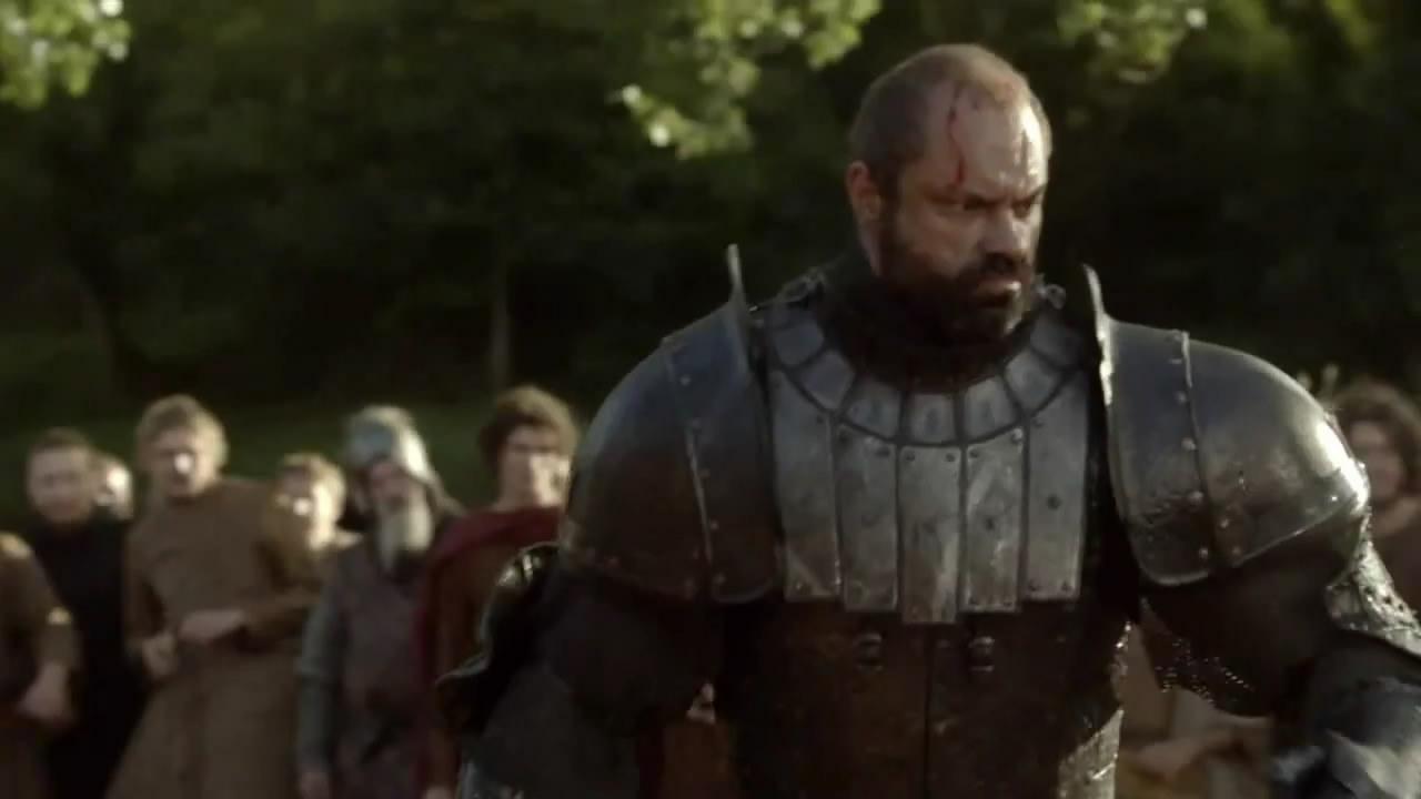 Gregor Clegane Season 2 Game of Thrones Gregor Clegane